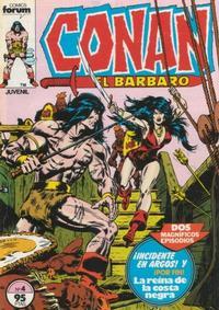 Cover Thumbnail for Conan el Bárbaro (Planeta DeAgostini, 1983 series) #4