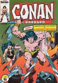 Cover Thumbnail for Conan el Bárbaro (Planeta DeAgostini, 1983 series) #7