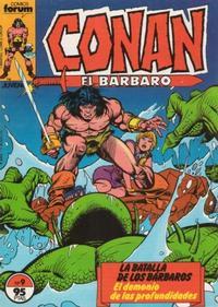 Cover Thumbnail for Conan el Bárbaro (Planeta DeAgostini, 1983 series) #9