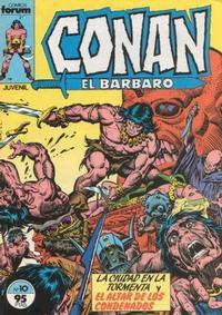 Cover Thumbnail for Conan el Bárbaro (Planeta DeAgostini, 1983 series) #10