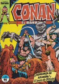 Cover Thumbnail for Conan el Bárbaro (Planeta DeAgostini, 1983 series) #11
