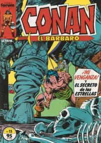 Cover Thumbnail for Conan el Bárbaro (Planeta DeAgostini, 1983 series) #13