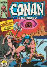 Cover Thumbnail for Conan el Bárbaro (Planeta DeAgostini, 1983 series) #14