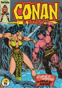 Cover Thumbnail for Conan el Bárbaro (Planeta DeAgostini, 1983 series) #15