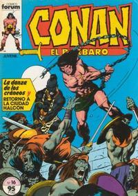 Cover Thumbnail for Conan el Bárbaro (Planeta DeAgostini, 1983 series) #16