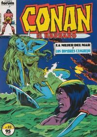 Cover Thumbnail for Conan el Bárbaro (Planeta DeAgostini, 1983 series) #23