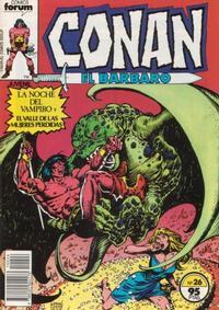 Cover Thumbnail for Conan el Bárbaro (Planeta DeAgostini, 1983 series) #26