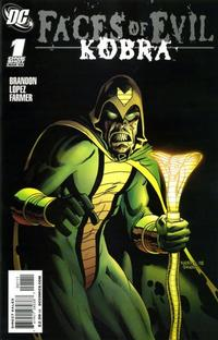 Cover Thumbnail for Faces of Evil: Kobra (DC, 2009 series) #1