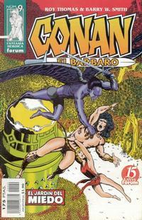 Cover Thumbnail for Conan el bárbaro (Planeta DeAgostini, 1998 series) #9