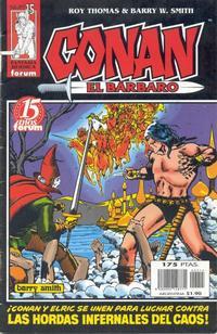 Cover Thumbnail for Conan el bárbaro (Planeta DeAgostini, 1998 series) #15