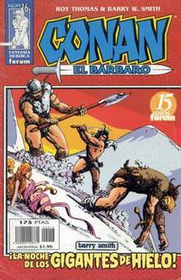 Cover Thumbnail for Conan el bárbaro (Planeta DeAgostini, 1998 series) #16