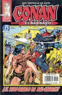 Cover Thumbnail for Conan el bárbaro (Planeta DeAgostini, 1998 series) #17