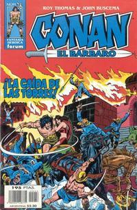 Cover Thumbnail for Conan el bárbaro (Planeta DeAgostini, 1998 series) #26