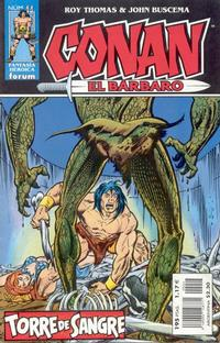 Cover Thumbnail for Conan el bárbaro (Planeta DeAgostini, 1998 series) #44