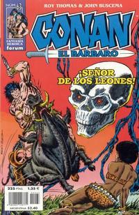 Cover Thumbnail for Conan el bárbaro (Planeta DeAgostini, 1998 series) #63