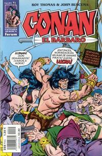 Cover Thumbnail for Conan el bárbaro (Planeta DeAgostini, 1998 series) #71