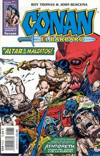 Cover Thumbnail for Conan el bárbaro (Planeta DeAgostini, 1998 series) #72
