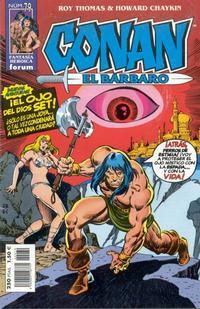 Cover Thumbnail for Conan el bárbaro (Planeta DeAgostini, 1998 series) #79