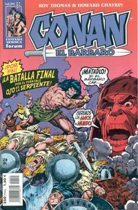 Cover Thumbnail for Conan el bárbaro (Planeta DeAgostini, 1998 series) #81