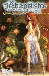 Cover Thumbnail for 1001 Arabian Nights: The Adventures of Sinbad (Zenescope Entertainment, 2008 series) #7