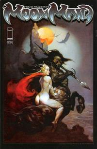 Cover Thumbnail for Frank Frazetta's Moon Maid (Image, 2009 series)  [Cover A]