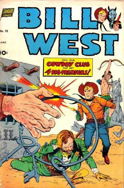 Cover for Bill West (Pines, 1951 series) #10