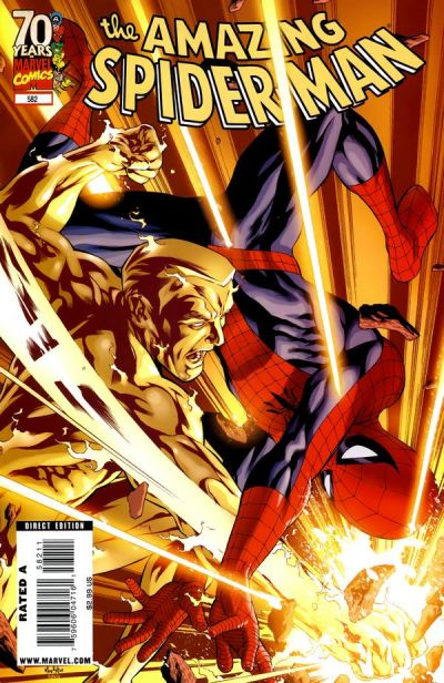 Cover for The Amazing Spider-Man (Marvel, 1999 series) #582