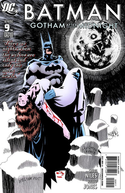 Cover for Batman: Gotham After Midnight (DC, 2008 series) #9