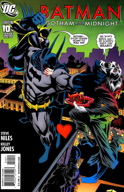 Cover for Batman: Gotham After Midnight (DC, 2008 series) #10