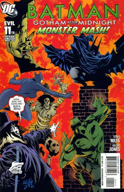 Cover for Batman: Gotham After Midnight (DC, 2008 series) #11