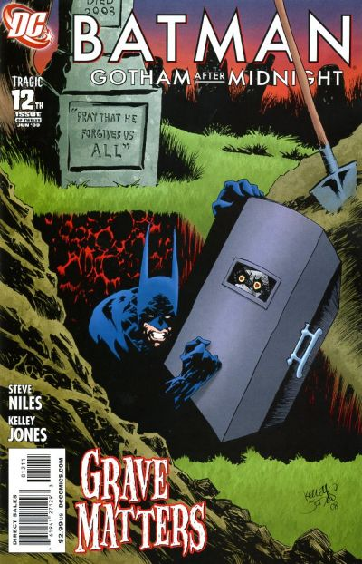 Cover for Batman: Gotham After Midnight (DC, 2008 series) #12