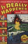 Cover for It Really Happened (Pines, 1944 series) #2