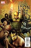 Cover for The Immortal Iron Fist (Marvel, 2007 series) #22