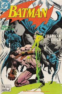 Cover Thumbnail for Batman [Batman Justicia Ciega] (Zinco, 1990 series) #2