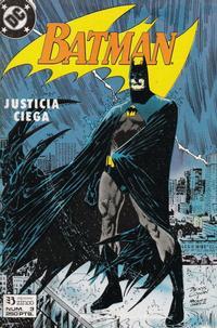Cover Thumbnail for Batman [Batman Justicia Ciega] (Zinco, 1990 series) #3
