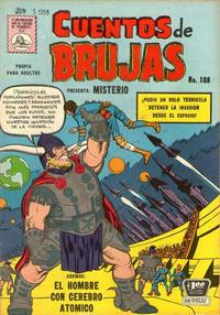 Cover Thumbnail for Cuentos de Brujas (Editora de Periódicos La Prensa S.C.L., 1951 series) #108