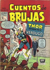 Cover Thumbnail for Cuentos de Brujas (Editora de Periódicos La Prensa S.C.L., 1951 series) #179