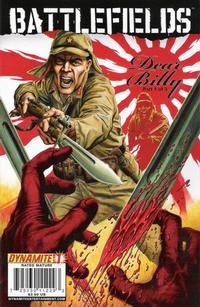 Cover Thumbnail for Battlefields: Dear Billy (Dynamite Entertainment, 2009 series) #1 [Gary Leach Cover]