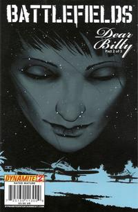 Cover for Battlefields: Dear Billy (Dynamite Entertainment, 2009 series) #2