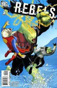 Cover Thumbnail for R.E.B.E.L.S. (DC, 2009 series) #2