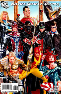 Cover Thumbnail for Justice Society of America (DC, 2007 series) #26 [Left Side of Triptych]