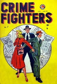 Cover Thumbnail for Crimefighters Comics (Bell Features, 1948 series) #7