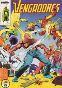 Cover Thumbnail for Los Vengadores (Planeta DeAgostini, 1983 series) #10