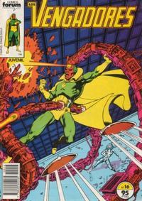 Cover Thumbnail for Los Vengadores (Planeta DeAgostini, 1983 series) #16