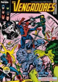 Cover Thumbnail for Los Vengadores (Planeta DeAgostini, 1983 series) #45
