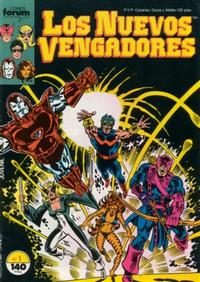 Cover Thumbnail for Los Nuevos Vengadores (Planeta DeAgostini, 1987 series) #1