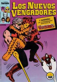 Cover Thumbnail for Los Nuevos Vengadores (Planeta DeAgostini, 1987 series) #2