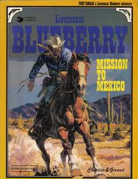 Cover Thumbnail for Lieutenant Blueberry (Egmont UK, 1977 series) #4 - Mission to Mexico