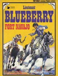 Cover Thumbnail for Lieutenant Blueberry (Egmont UK, 1977 series) #[1] - Fort Navajo