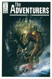 Cover Thumbnail for The Adventurers (Aircel Publishing, 1986 series) #2